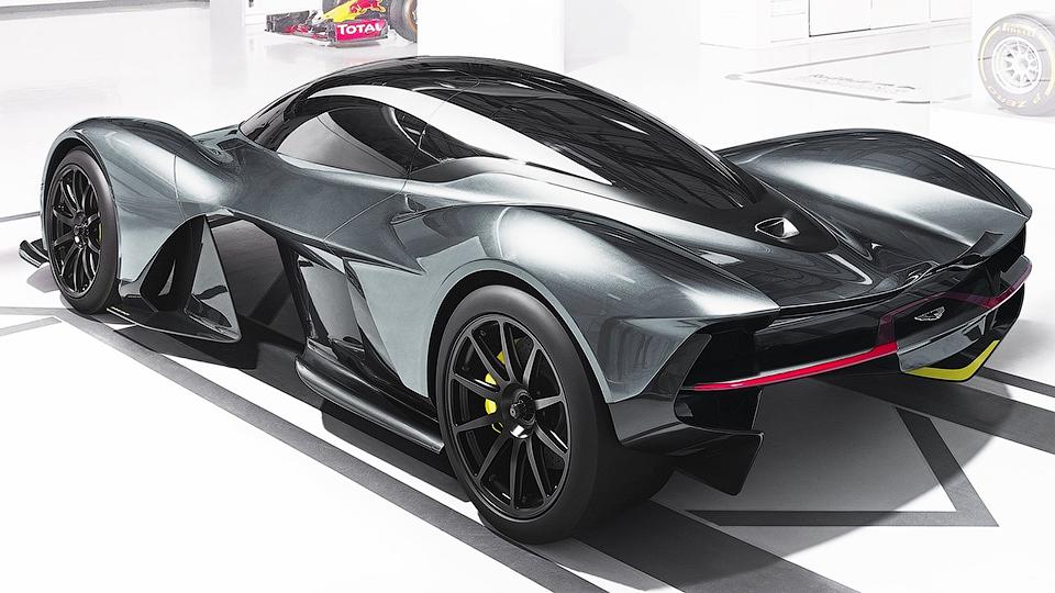 Гиперкар Aston Martin иRed Bull распродали затри года довыхода