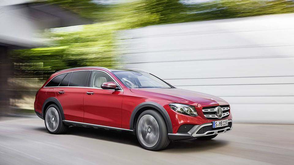 Mercedes E-Class All-Terrain приедет в РФ