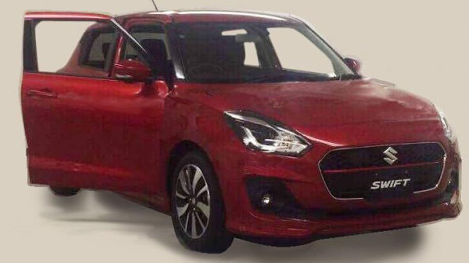 Дизайн нового Suzuki Swift раскрыли вСети