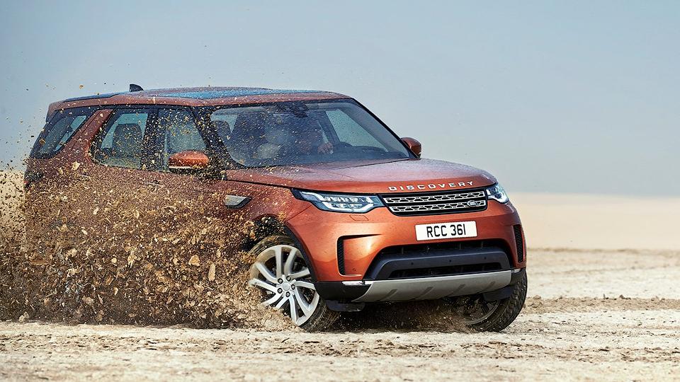 Land Rover назвал рублевые цены нановый Discovery