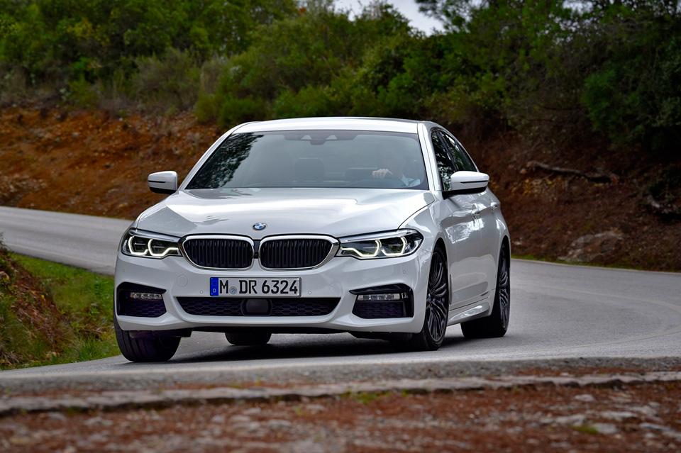 Тест новой «пятерки» BMW, которая теперь почти как «семерка». Только меньше. Фото 7