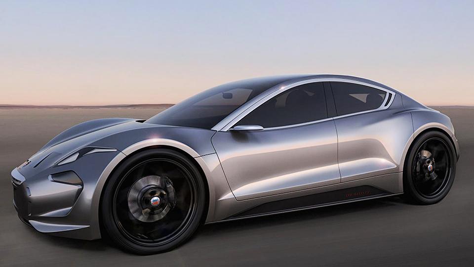 Новая модель Fisker проедет наэлектротяге 645 километров