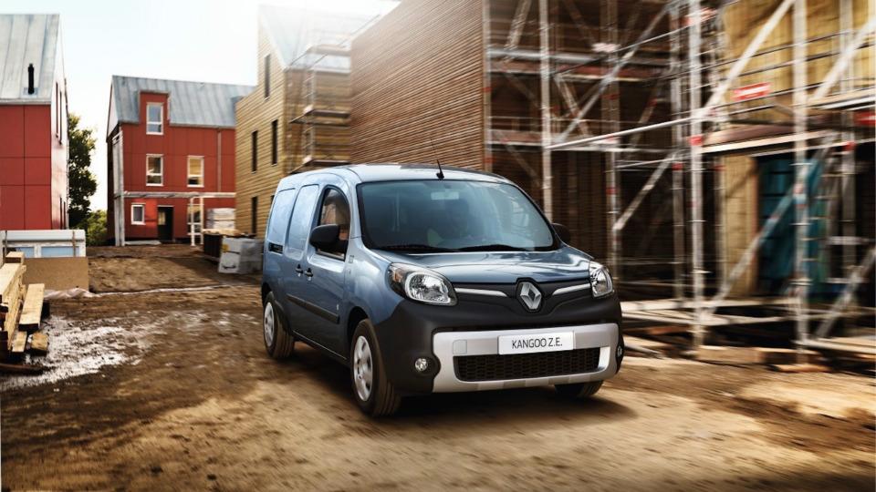 Запас хода электрического Renault Kangoo вырастет вполтора раза