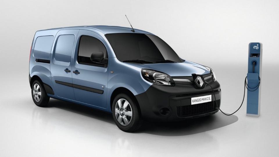 Renault Kangoo Z.E. сможет проехать без подзарядки более 200 километров