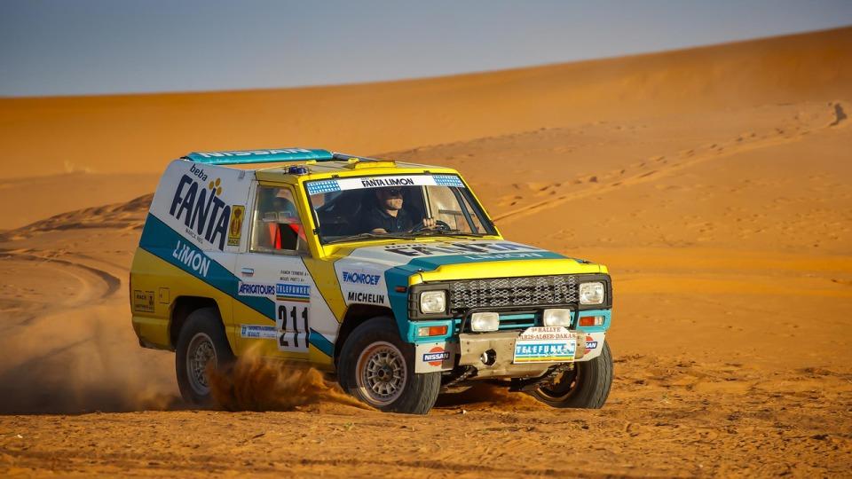 Сотрудники Nissan воскресили дакаровский Patrol 1987 года