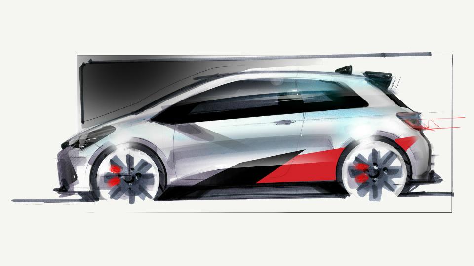 Тойота представила раллийный Yaris WRC