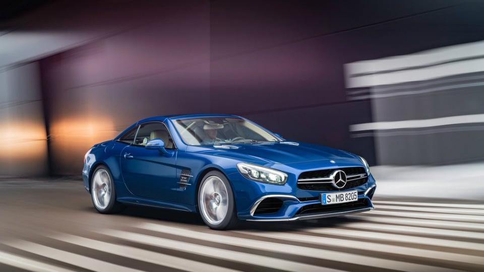 Новый Мерседес-Бенс SLпостроят наплатформе Mercedes-AMGGT