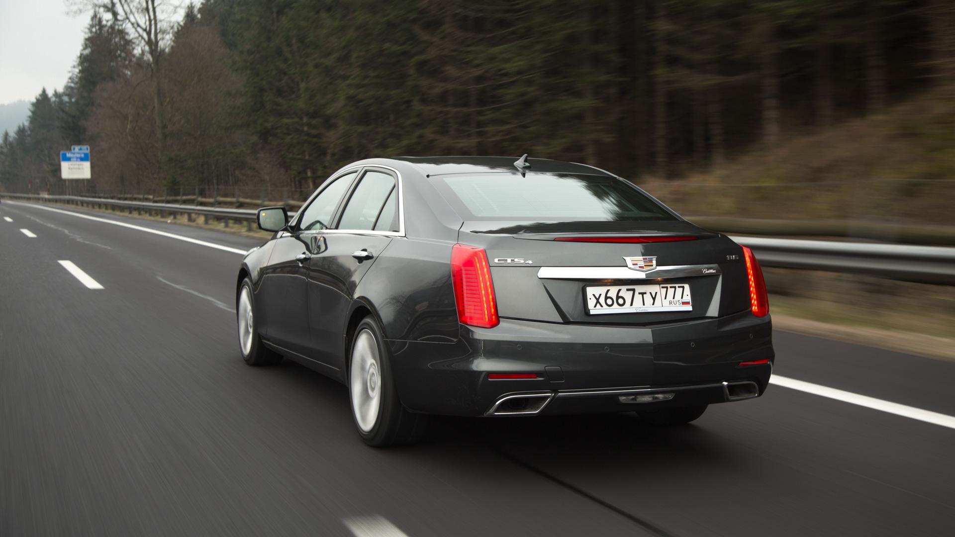 Как Cadillac сделал присутствие седана CTS вРоссии чуть более осмысленным. Фото 5