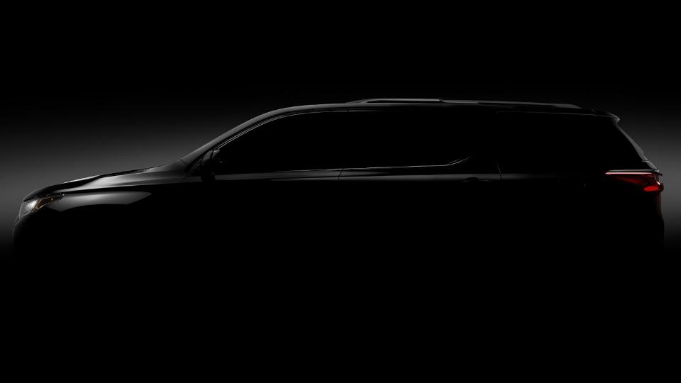 Компания Chevrolet показала силуэт нового Traverse