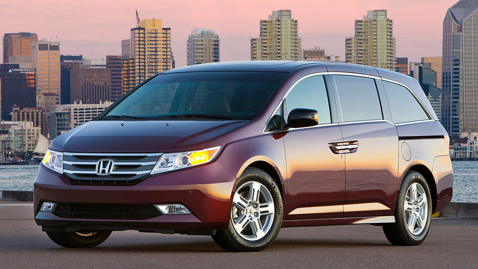 Honda Odyssey пятого поколения представят намоторшоу вДетройте