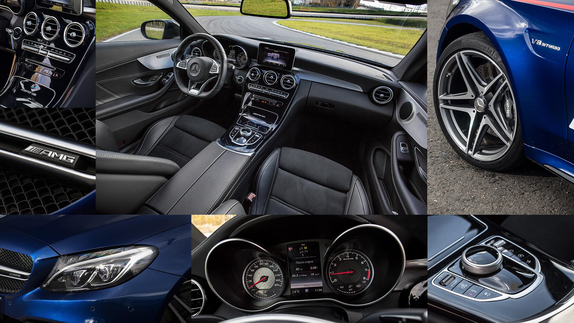 Битва года: BMW M3 против Mercedes-AMG C63. Фото 2