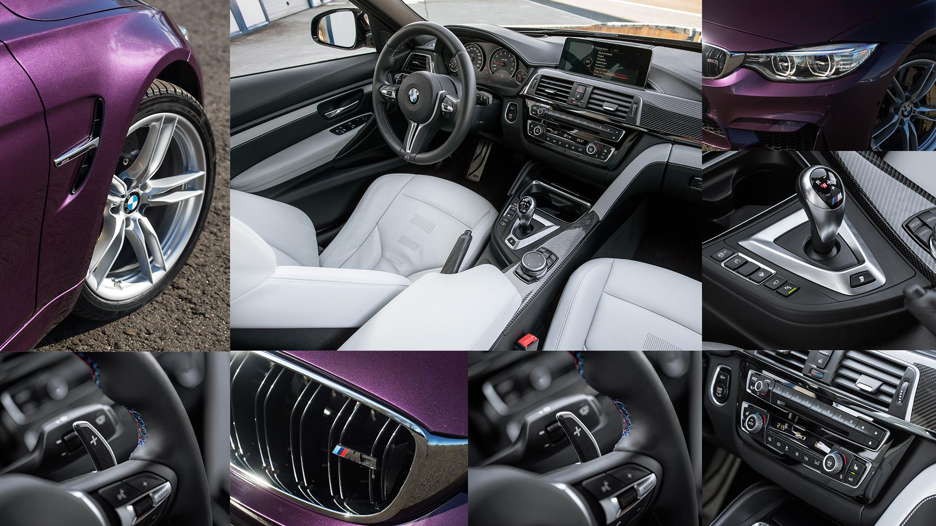 Битва года: BMW M3 против Mercedes-AMG C63. Фото 10