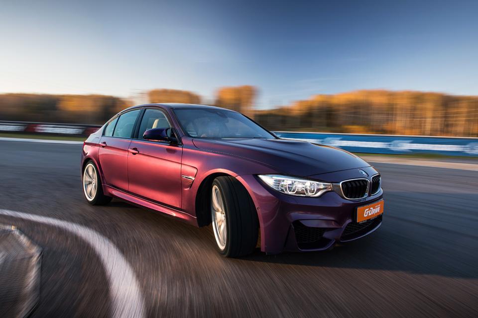 Битва года: BMW M3 против Mercedes-AMG C63. Фото 11
