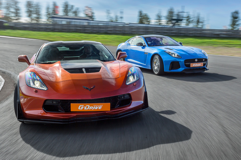Битва года: Jaguar F-Type SVR vs Chevrolet Corvette Z06. Фото 7