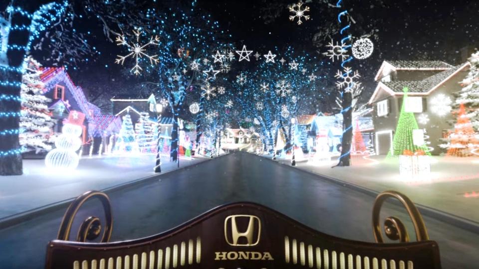 «Хонда» устроила детям виртуальное путешествие насанях