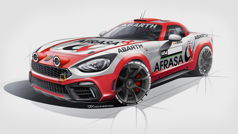 Abarth 124 Spider проедет вралли полный гоночный сезон