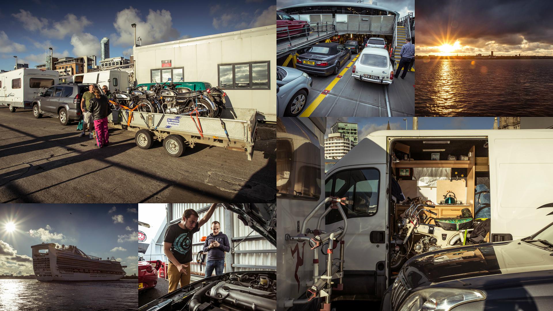 Две Mazda MX-5 исамая опасная икрасивая дорога наземле— трасса Isle ofMan TT. Фото 8