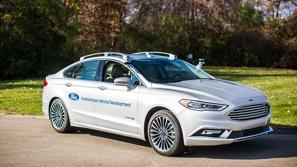 Ford вдвое сократил число датчиков LIDAR набеспилотном Fusion
