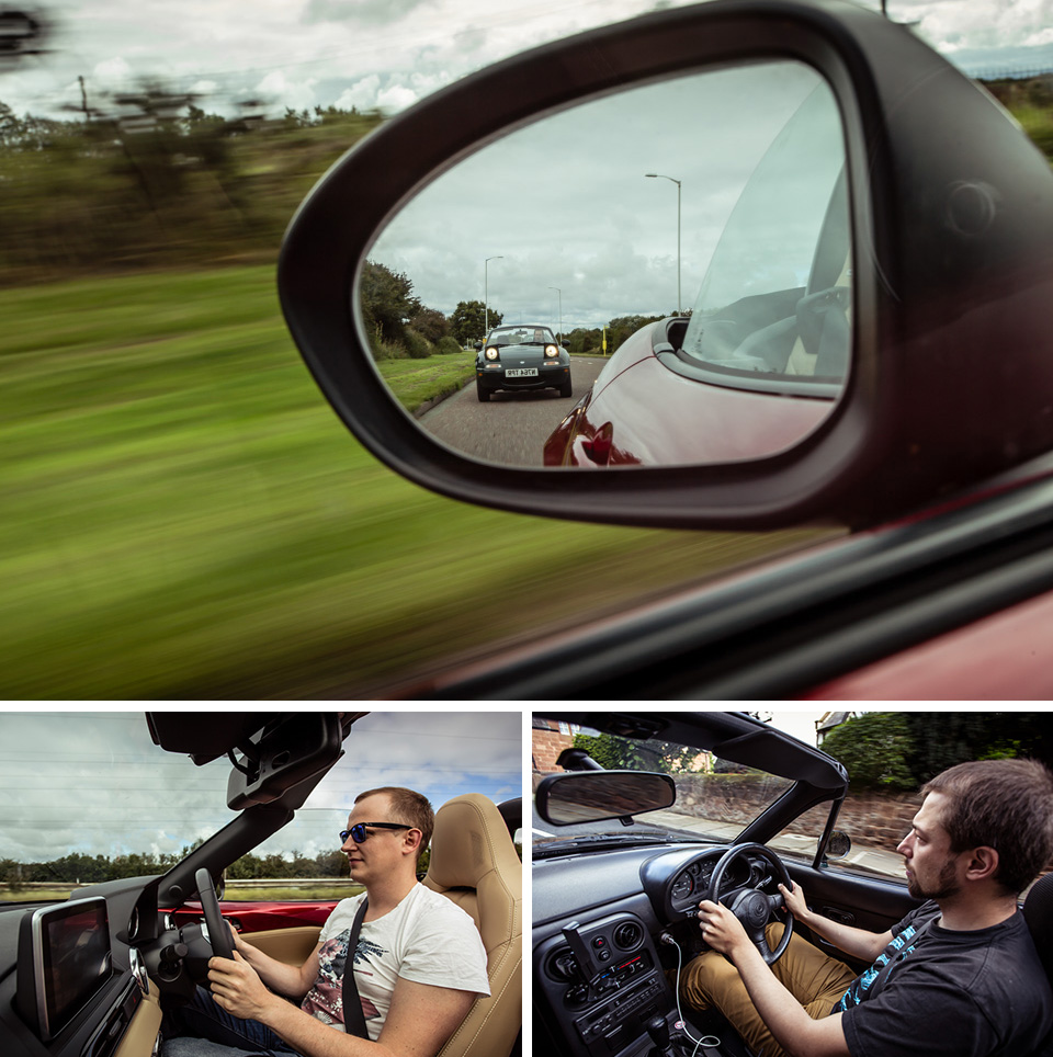 Две Mazda MX-5 исамая опасная икрасивая дорога наземле— трасса Isle ofMan TT. Фото 6