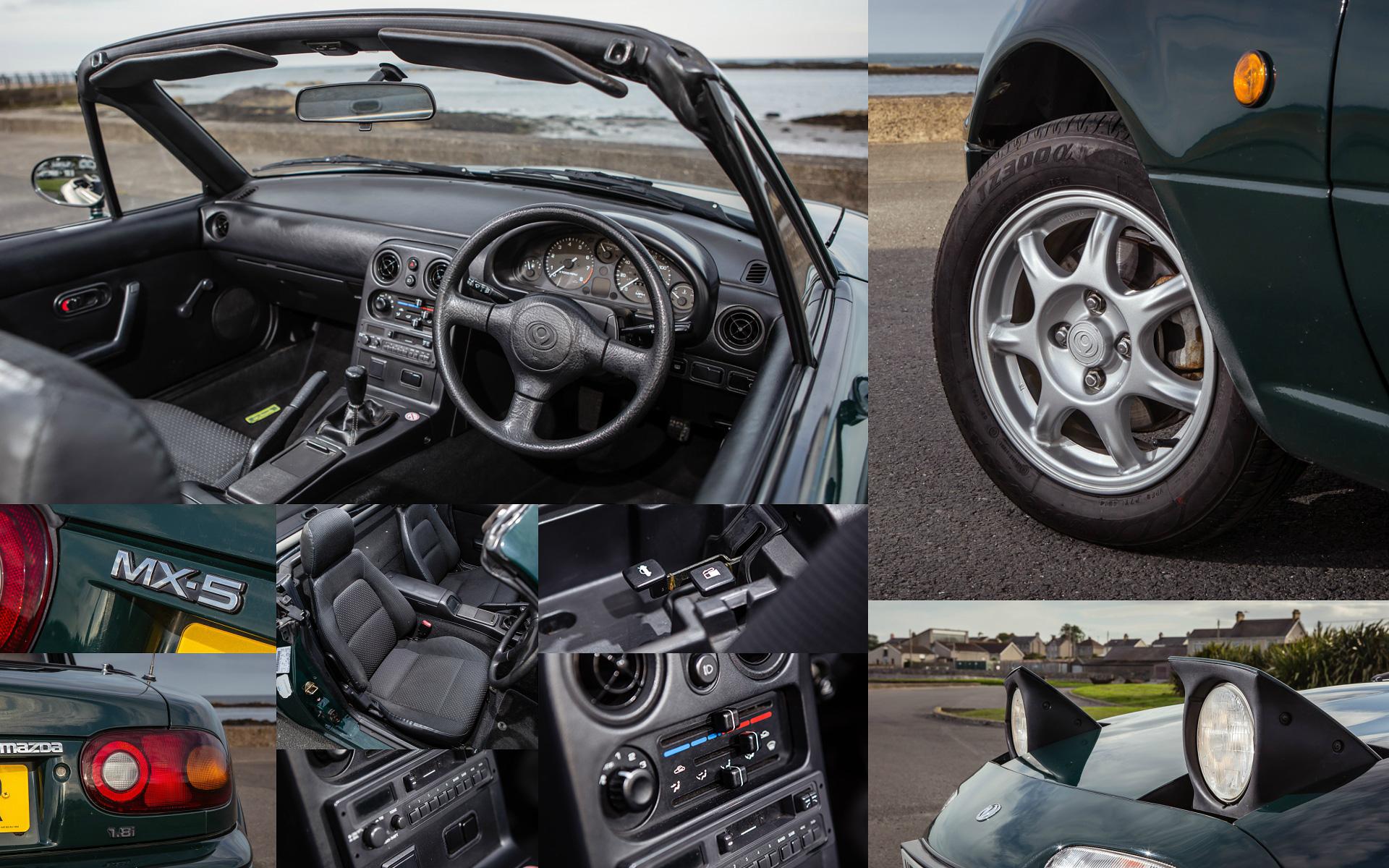 Две Mazda MX-5 исамая опасная икрасивая дорога наземле— трасса Isle ofMan TT. Фото 17