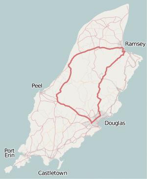 Две Mazda MX-5 исамая опасная икрасивая дорога наземле— трасса Isle ofMan TT. Фото 16