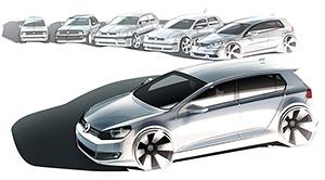 За40 лет VWGolf GTI разошелся тиражом более 1,7 миллиона экземпляров. Посути, это самая массовая «заряженная» модель вмире.