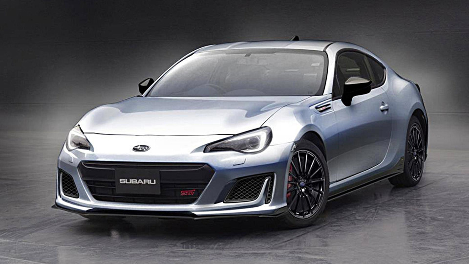 Две модели Subaru превратили вSTI-концепты