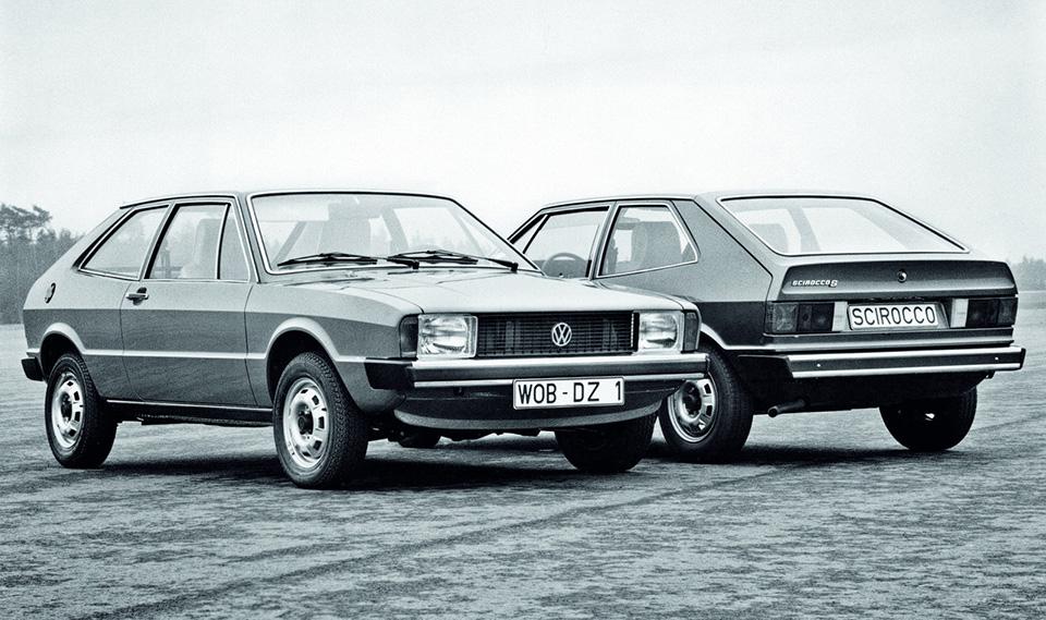 VWScirocco был построен натойже переднеприводной платформе A1, что ипервый VWGolf. Ноонпоявился впродаже наполгода раньше «Гольфа», ипозиционировался вкачестве более спортивной модели.