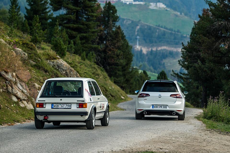 Длина первого VWGolf GTI— 3985мм длина, аширина— всего 1680мм. Для сравнения, цифры GTI Clubsport: 4268мм и1790мм соответственно.