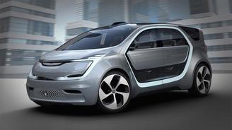 Chrysler представил минивэн с системой распознавания лиц - Chrysler