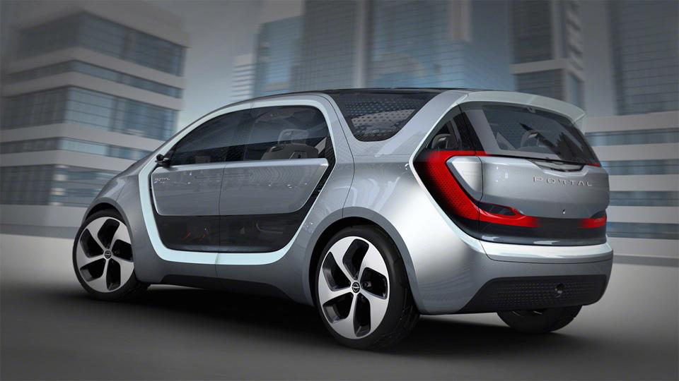 Прототип Chrysler Portal укомплектовали системой распознавания лиц