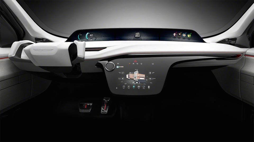 Прототип Chrysler Portal укомплектовали системой распознавания лиц. Фото 2