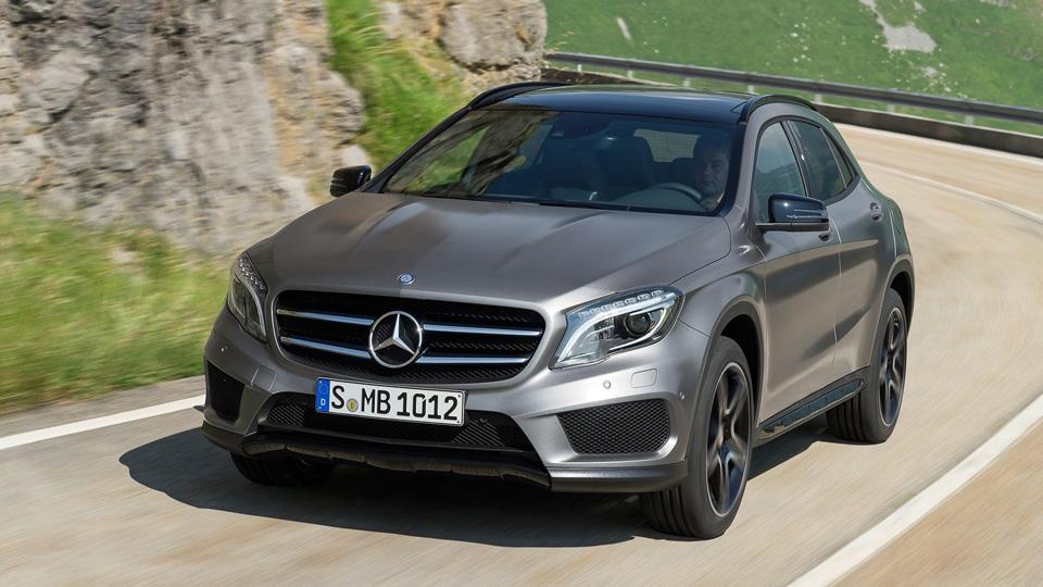Рестайлинговый Mercedes-Benz GLA дебютирует намоторшоу вДетройте