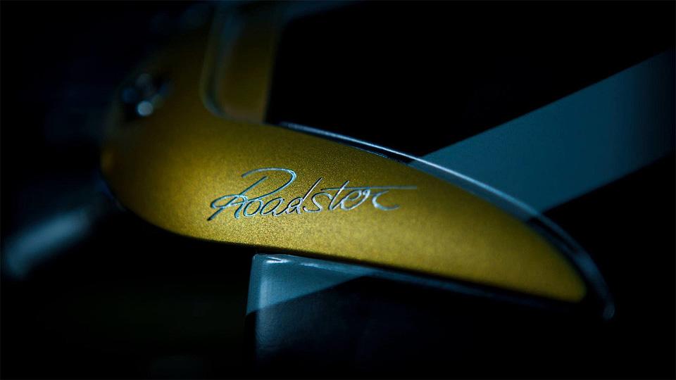 Pagani презентует вЖеневе новый родстер Huayra Roadster