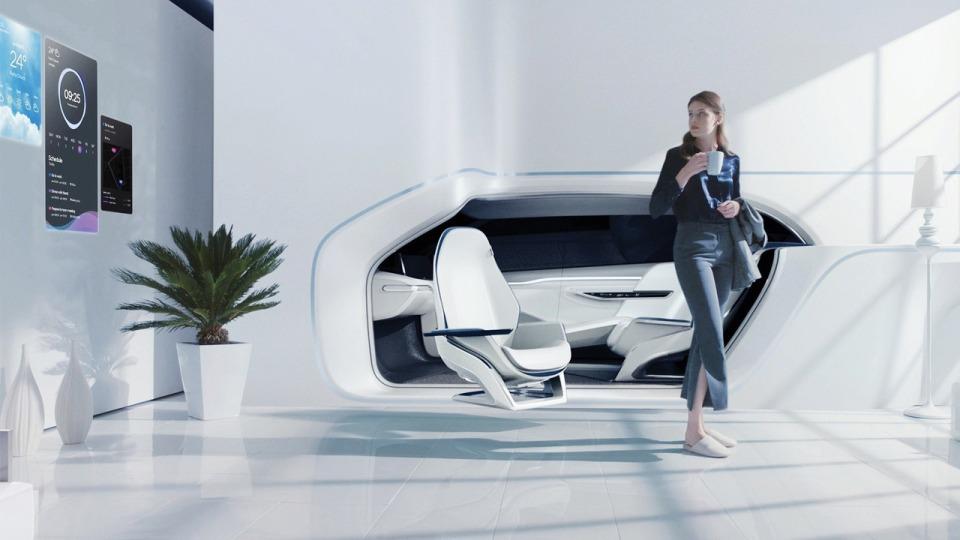 Hyundai интегрировал автомобиль вдом