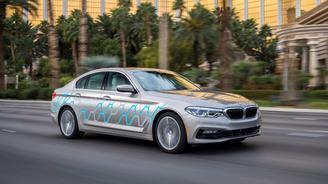 BMW 5-серии сможет самостоятельно уезжать на парковку