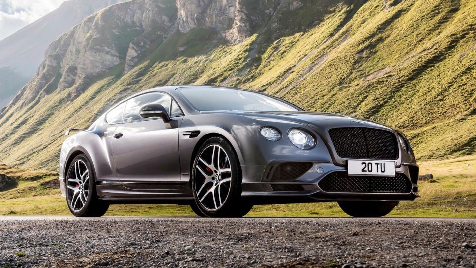 Представлен мощнейший Bentley в истории