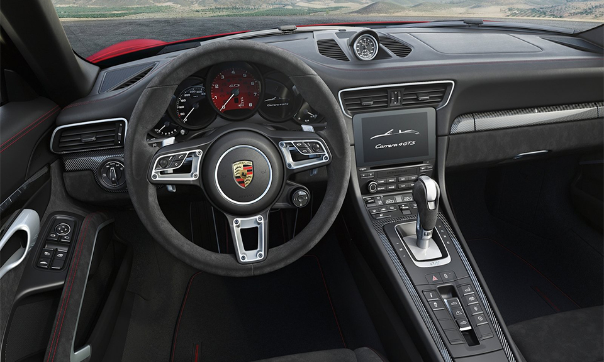 GTS-версии Porsche 911 лишились атмосферного мотора