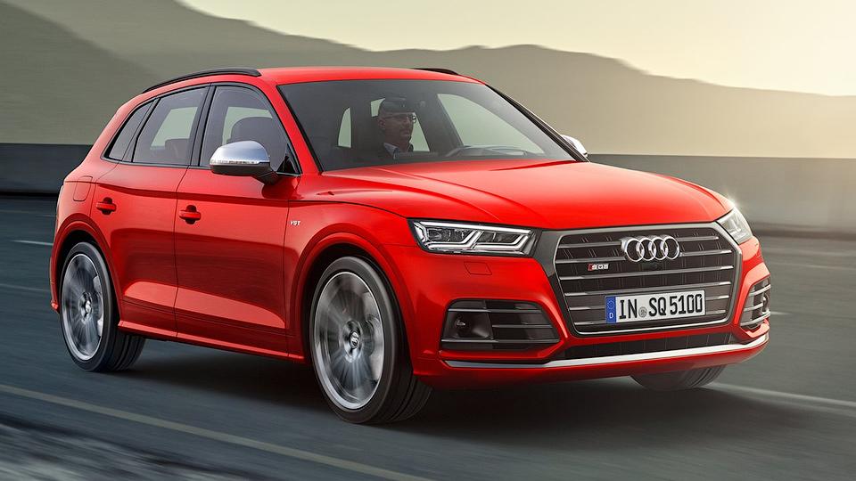 Новый Audi SQ5 сменил мотор истал медленнее