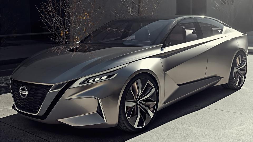 Nissan показал дизайн новых седанов напрототипе