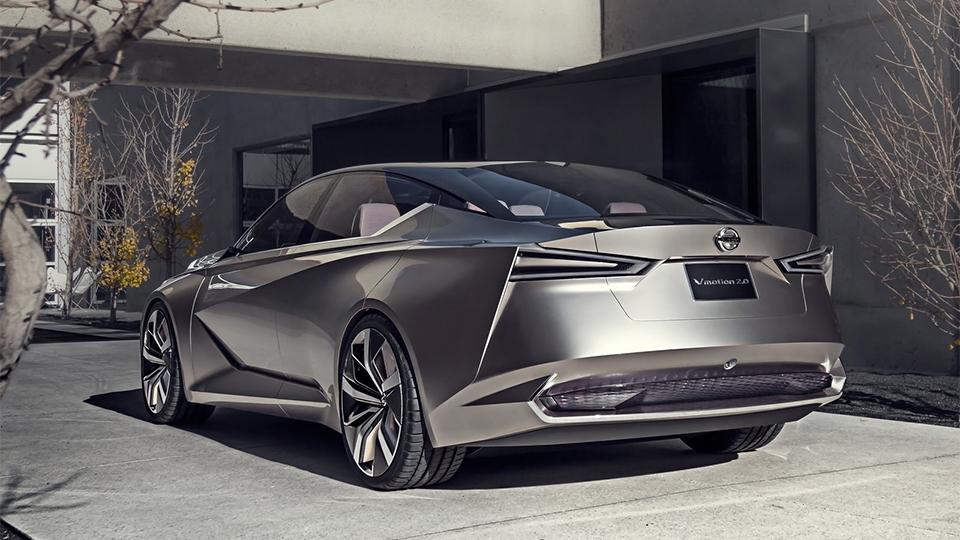 Концепт-кар Nissan Vmotion 2.0 дебютировал вДетройте