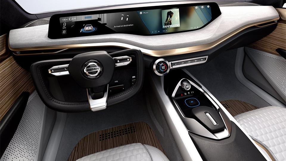 Концепт-кар Nissan Vmotion 2.0 дебютировал вДетройте. Фото 2