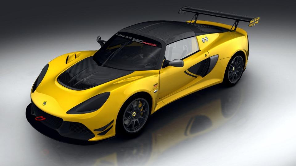 Лотус представил трековое купе Exige Race 380