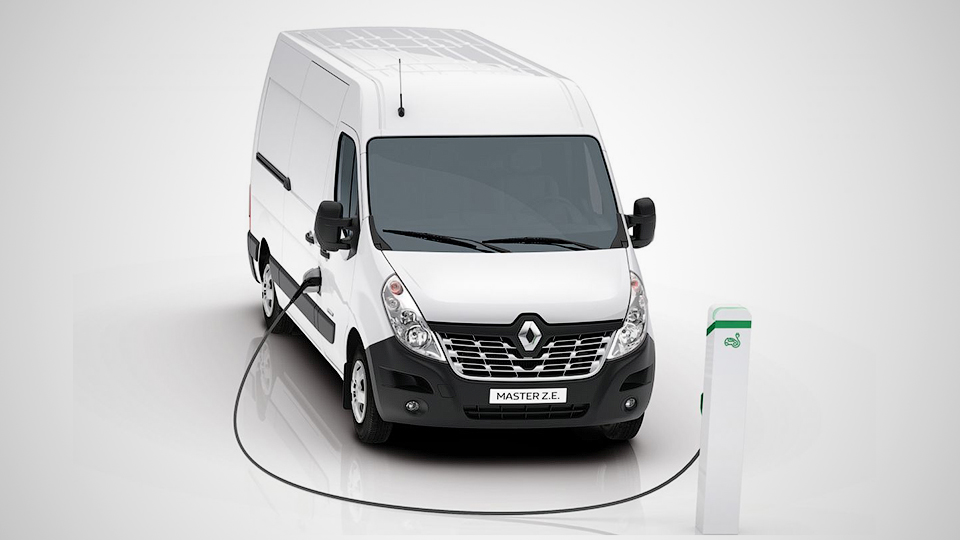 Компания Рено перевела фургон Master наэлектричество
