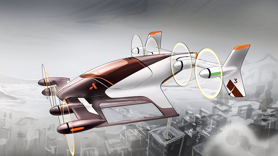 Компания Airbus доконца года представит летающее такси