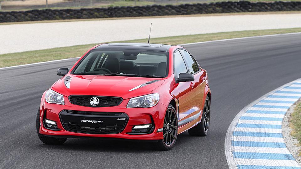 Holden сделал особые модификации трех моделей