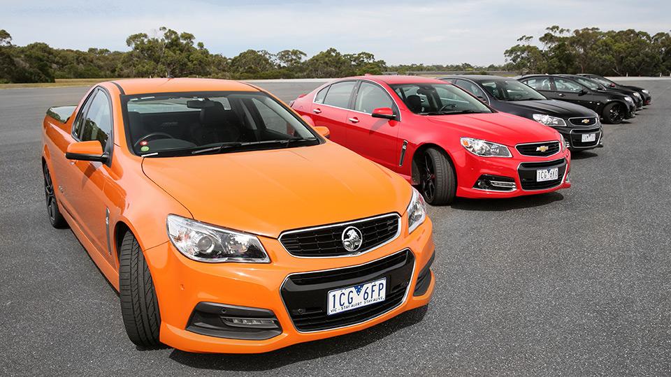 Holden сделал особые модификации трех моделей. Фото 2