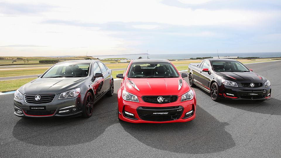 Holden сделал особые модификации трех моделей. Фото 3