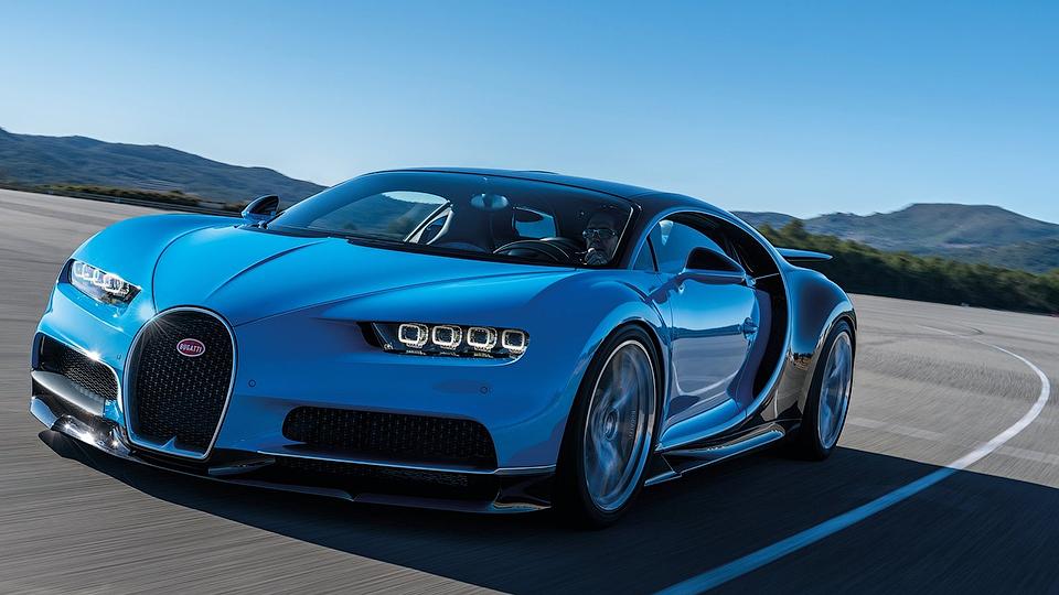 В СНГ продали первый Bugatti Chiron