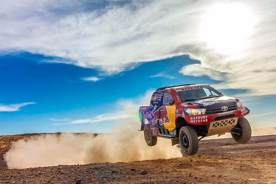 Как машины Toyota прошли через адДакара-2017. Фото 3